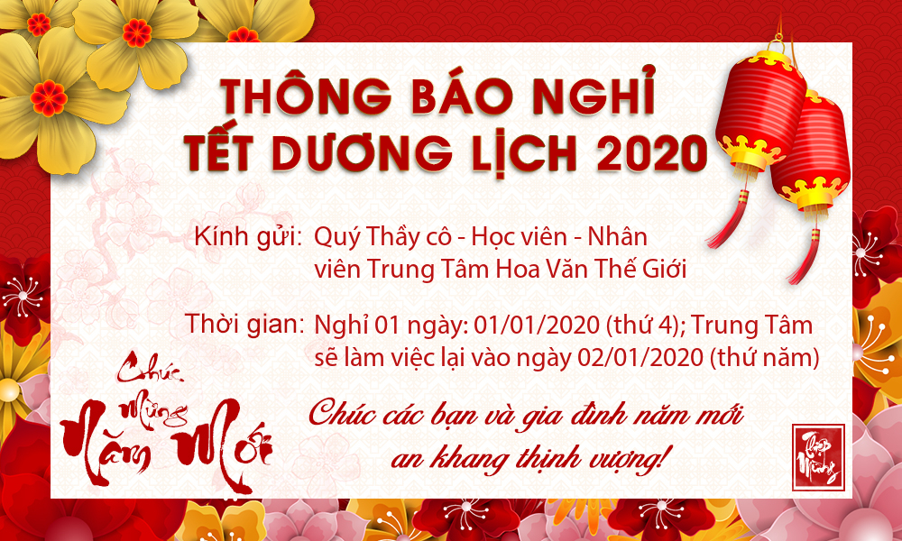 HVTG LICH NGHI TET DUONG LICH 2020